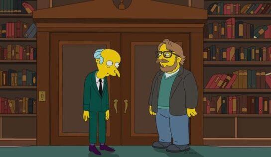 Así ser verá Guillermo del Toro en «Los Simpson»