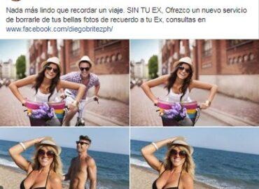 Elimina a tu ex de los recuerdos de tus vacaciones