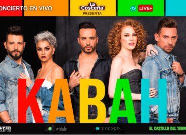 Kabah ofrecerá concierto vía Streaming en beneficio al sector salud