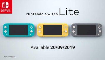 Nintendo revela su Switch Lite